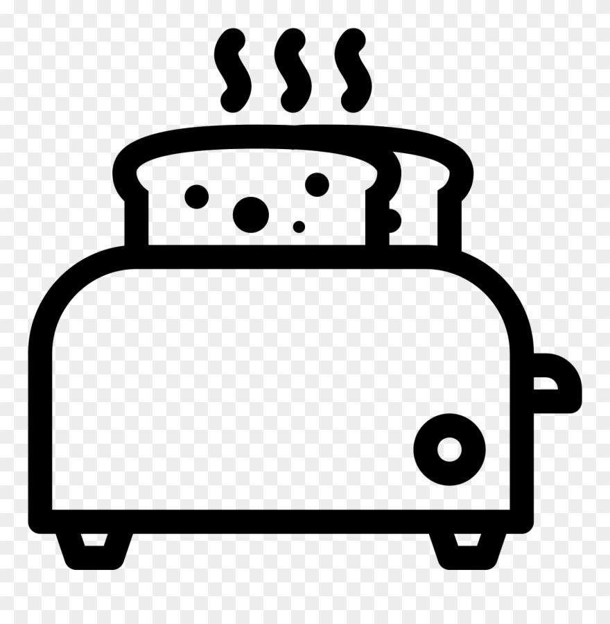 Toaster clipart black and white freeuse Clip Free Download Toaster Clipart Black And White - Toaster ... freeuse
