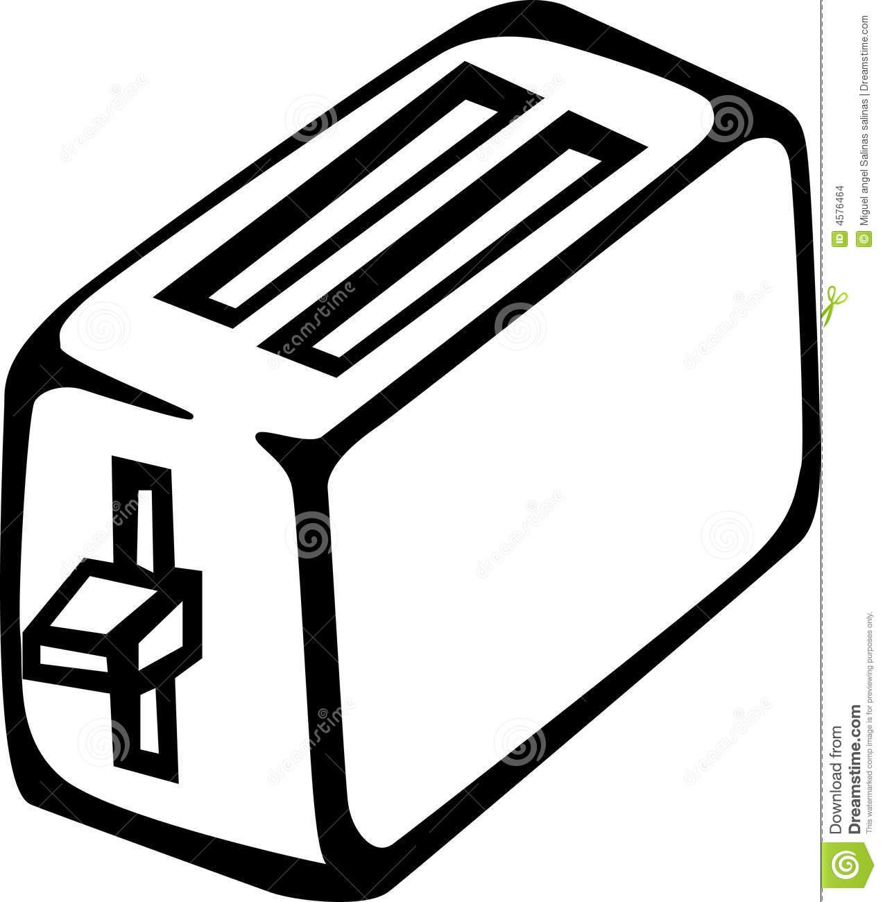Toaster clipart black and white png freeuse library 13 Toaster Vector Graphic Images - Toaster Clip Art Black ... png freeuse library
