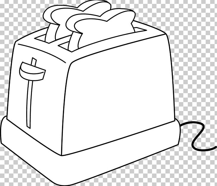 Toaster clipart black and white clip free download French Toast Toaster Sliced Bread PNG, Clipart, Area ... clip free download