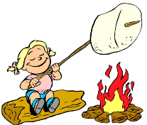 Toasting marshmellows clipart picture library stock Roasting Marshmallows Cartoon | Clipart Panda - Free Clipart ... picture library stock