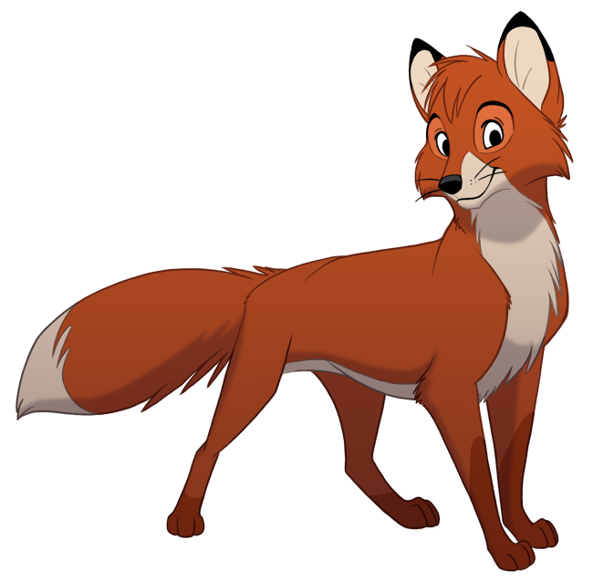 Tod the fox clipart jpg transparent library Fox clipart fox and the hound, Fox fox and the hound ... jpg transparent library