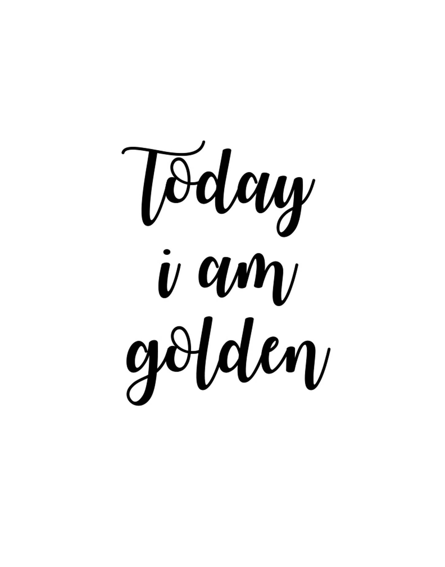 Today i am golden clipart clipart free download Today I am golden_sign_black font - Monica Kehrig Creative clipart free download