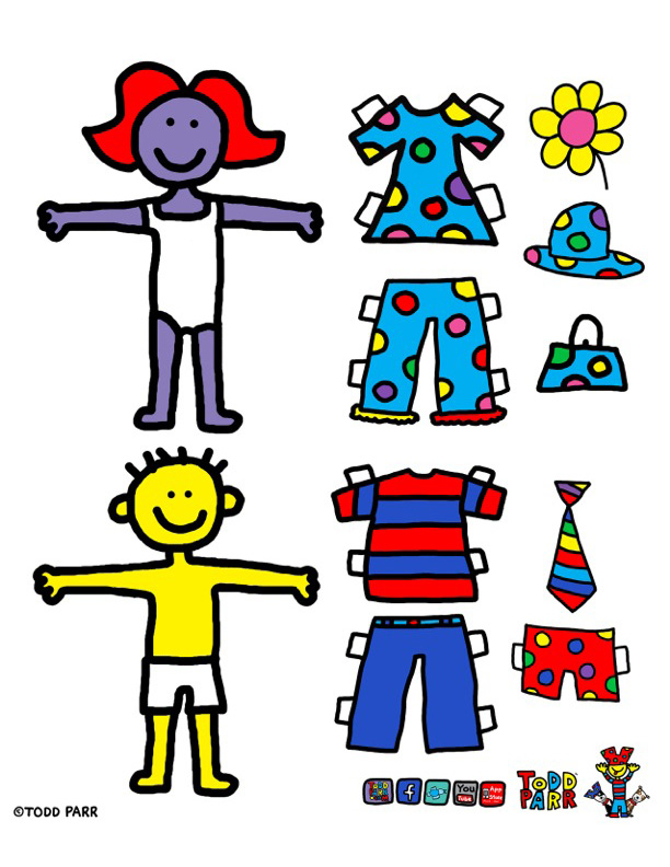 Todd parr clipart jpg stock Todd PARR | Fun Stuff from Todd PARR - Clip Art Library jpg stock