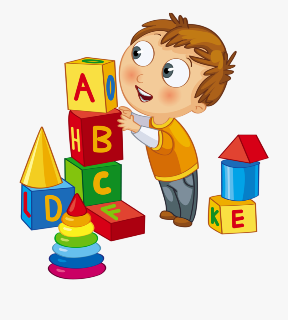 Toddler activity clipart picture library library Kids Playing Children Playing Blocks Clip Art - Play Time ... picture library library