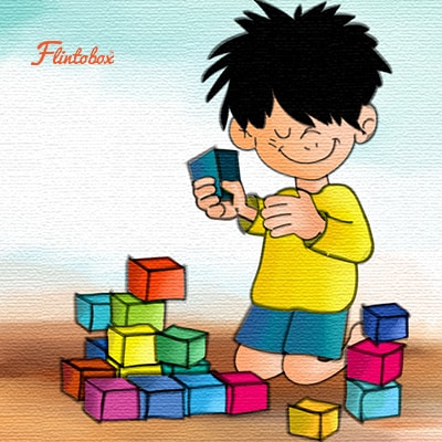 Toddler building with blocks clipart black hair clipart royalty free 12 Mind-Boggling Brain Games To Activate Thinking In Kids clipart royalty free