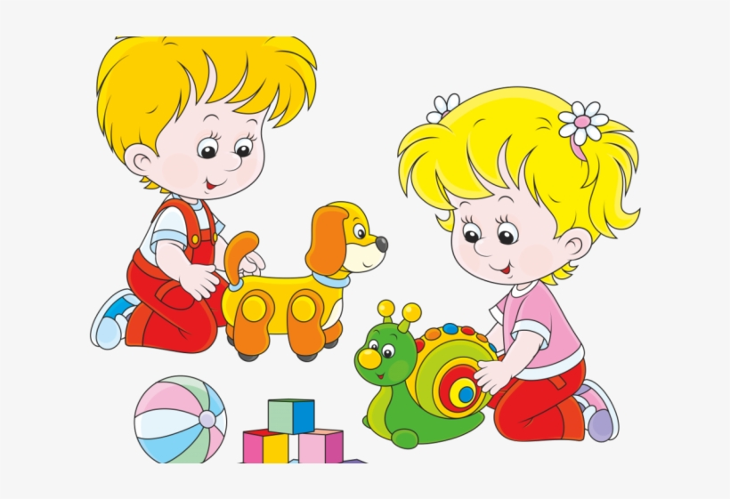Toddler playing clipart clip Toy Clipart Kid Toy - Clipart Children Playing Transparent ... clip