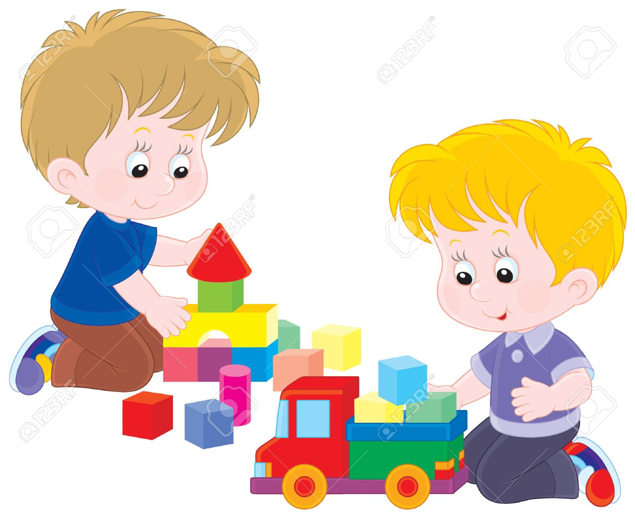 Toddler playing clipart clip library download Children playing with toys clipart 2 » Clipart Station clip library download