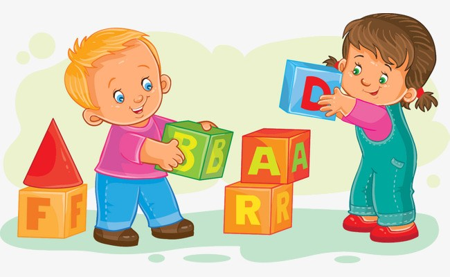 Toddler playing clipart svg freeuse library Children playing blocks clipart 2 » Clipart Portal svg freeuse library