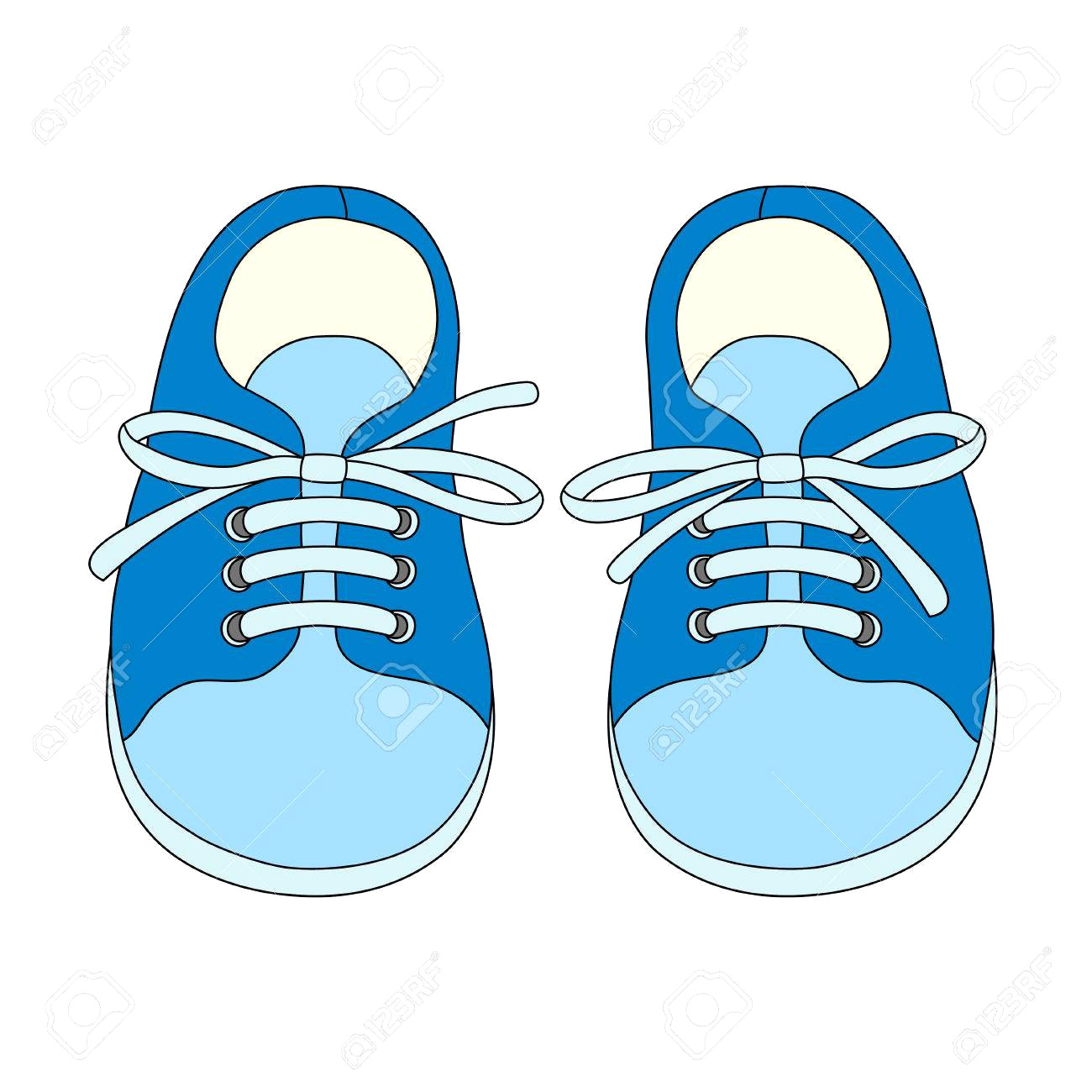 Toddler shoes clipart image black and white stock Shoes for boys clipart 5 » Clipart Station image black and white stock