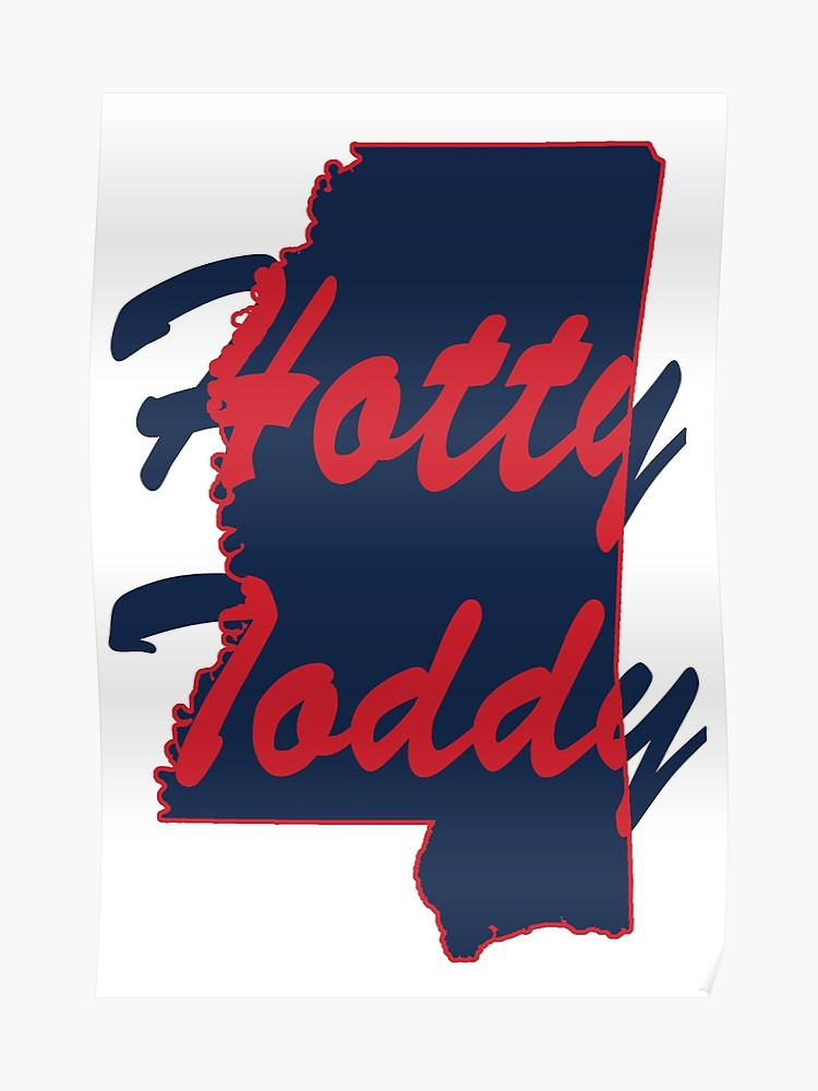 Toddy logo clipart freeuse library Ole Miss Hotty Toddy | Poster freeuse library