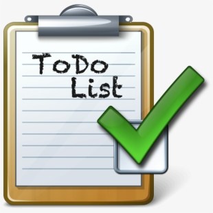 Todo post it clipart banner free stock Free To Do List Clipart Cliparts, Silhouettes, Cartoons Free ... banner free stock