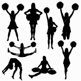 Toetouch clipart jpg freeuse library Cheerleading Toe Touch | Clipart Panda - Free Clipart Images jpg freeuse library