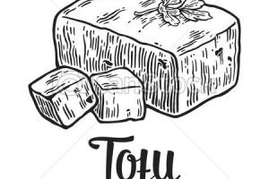 Tofo clipart black and white image freeuse Tofu clipart black and white 1 » Clipart Portal image freeuse