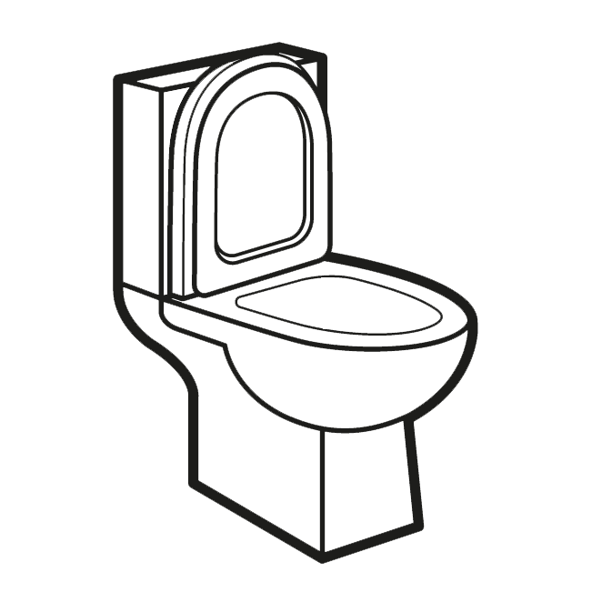 Toilet bowl clipart for house plans graphic free library Rimless Toilets | Rimless WCs | UK | Drench graphic free library