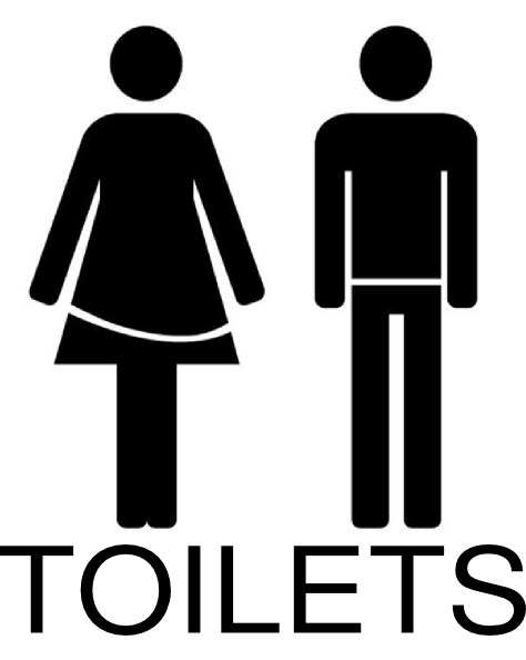 Toilets clipart svg library stock Female And Male Toilets Clip Art at Clker.com - vector clip ... svg library stock
