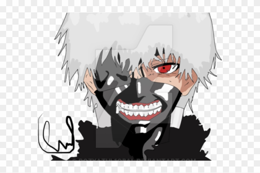 Tokyo ghoul kaneki clipart clipart black and white library Tokyo Ghoul Clipart Kaneki - Cartoon, HD Png Download ... clipart black and white library