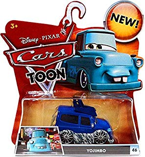 Tokyo mater clipart black and white library Amazon.com: Disney Cars Toon 1:55 Scale Diecast Tokyo Mater ... black and white library