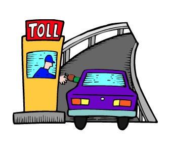 Toll road clipart clip art black and white stock 980*1400 - Free Clipart Download - Clipartimage #337139 clip art black and white stock