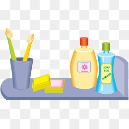 Tollitries clipart image Toiletries clipart 6 » Clipart Portal image