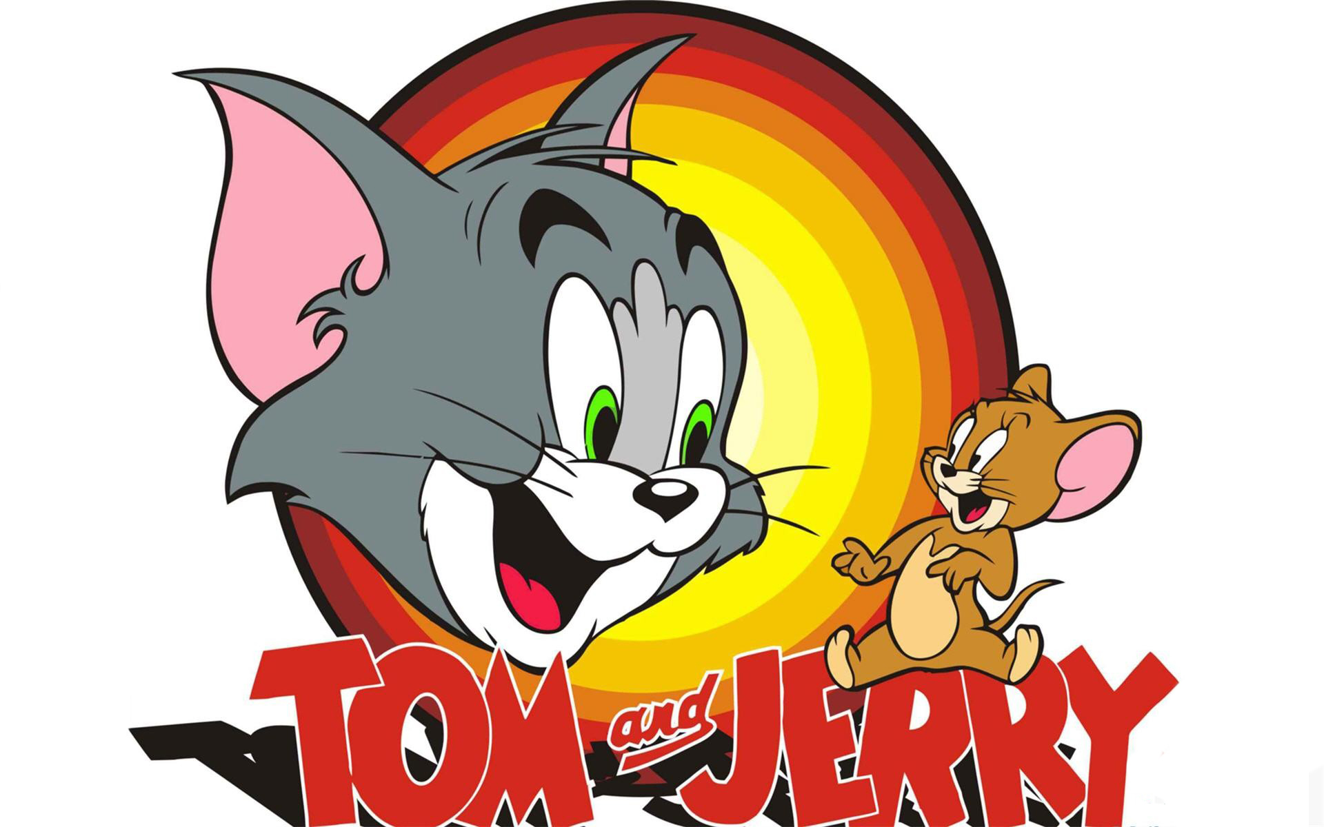 Tom and jerry logo clipart microsoft