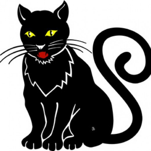Tom cat clipart svg free library Halloween Cats for Halloween Clipart | hubpages svg free library
