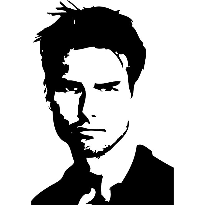 Tom cruise clipart clipart black and white stock Tom cruise clipart - ClipartFest clipart black and white stock