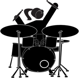 Tom girl clipart picture freeuse library Girl Drummer clip art | DRUM STUFF I LOVE. | Pinterest | Drummers ... picture freeuse library