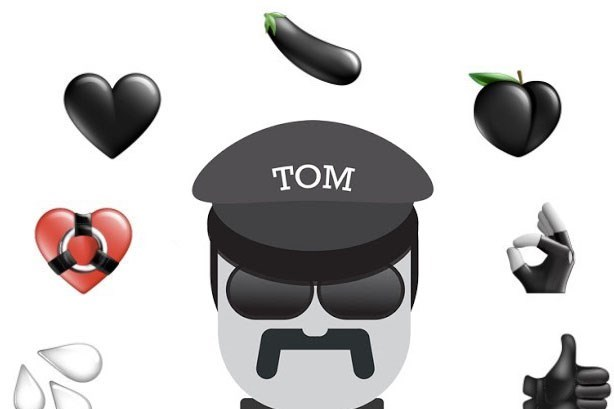 Tom of finland clipart picture freeuse download Tom of Finland honoured with new set of emojis | Dazed picture freeuse download