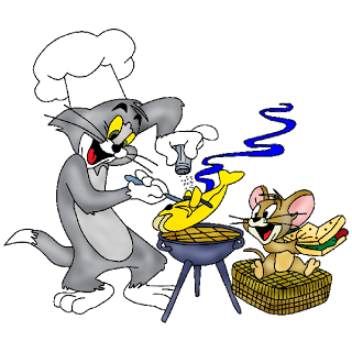 Tom und jerry clipart black and white library Tom And Jerry - Cartoon Images black and white library