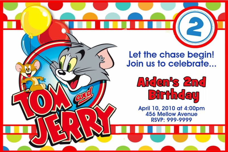 Tom und jerry clipart vector library Tom And Jerry Birthday Clipart vector library