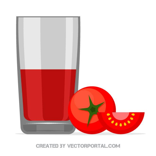 Tomato juice clipart jpg transparent library Tomato juice vector graphics - Free vector image in AI and ... jpg transparent library