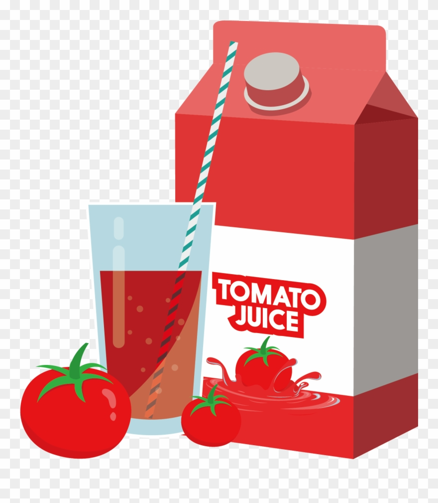 Tomato juice clipart vector freeuse Bagel Clipart Juice - Tomato Juice Clipart - Png Download ... vector freeuse