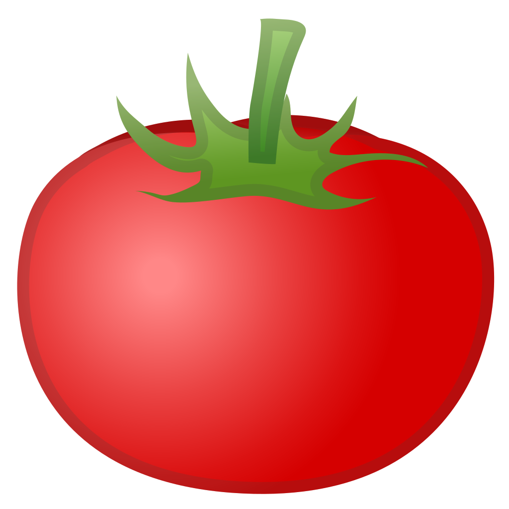 Tomato next to glasses clipart vector transparent library Tomato Cartoon Png (+) - Free Download | fourjay.org vector transparent library