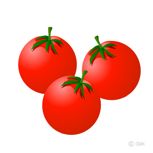 Tomatoe clipart black and white download Cherry Tomatoes Clipart Free Picture|Illustoon black and white download