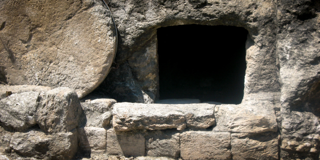 Tomb with round stone clipart picture library How was Jesus\' tomb sealed?--Aleteia picture library