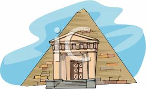 Tombs egyptian clipart clip art A Greek and Egyptian Tomb - Royalty Free Clipart Image clip art