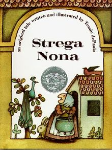 Tomie depaola author clipart jpg library download Strega Nona - Wikipedia jpg library download