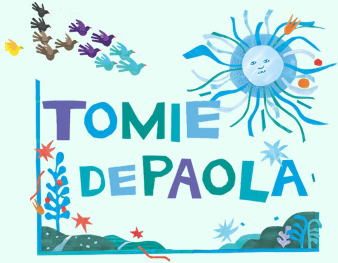 Tomie depaola author clipart graphic black and white library Preview of The Magical World of Tomie DePaola | Naugatuck ... graphic black and white library