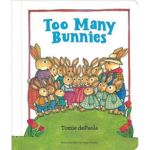 Tomie depaola author clipart image royalty free download Too Many Bunnies - by Tomie dePaola (Board_book) image royalty free download