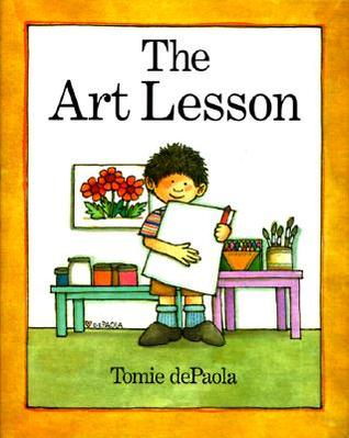 Tomie depaola clipart graphic library library The Art Lesson by Tomie dePaola graphic library library