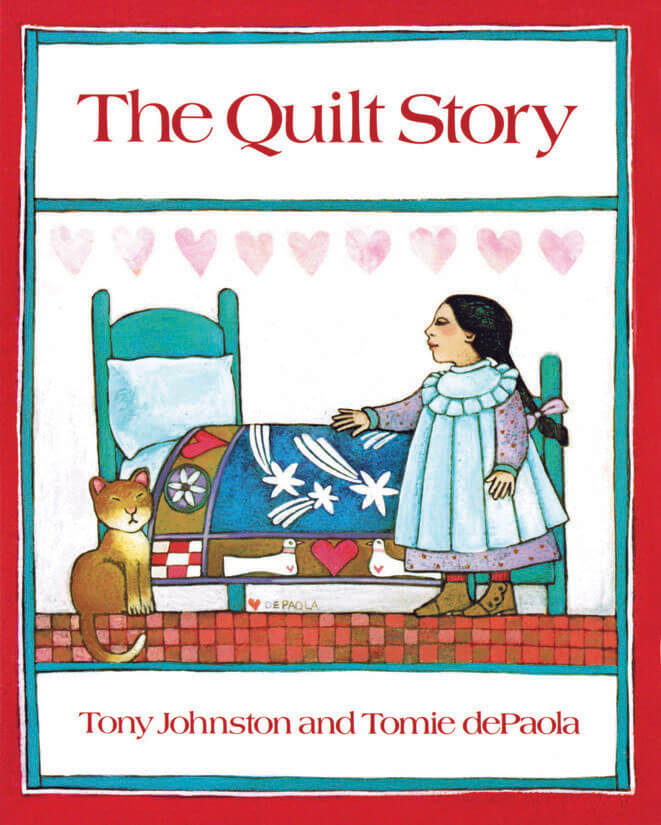 Tomie depaola clipart clip library library The Quilt Story clip library library