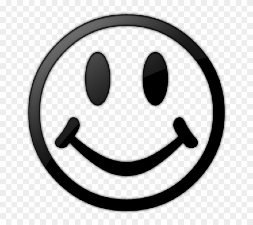 Tongue smile face clipart black and white picture free download Smiley Face Clip Art Black And White Smiley Face Black ... picture free download