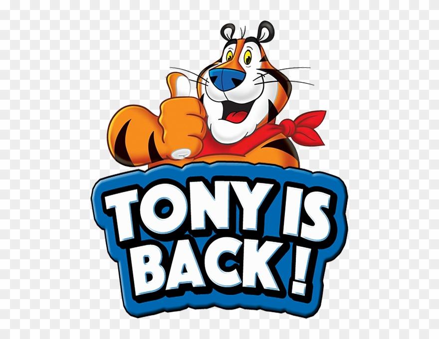 Tony little clipart jpg freeuse Tony The Tiger Clipart - Tony Kelloggs - Png Download ... jpg freeuse