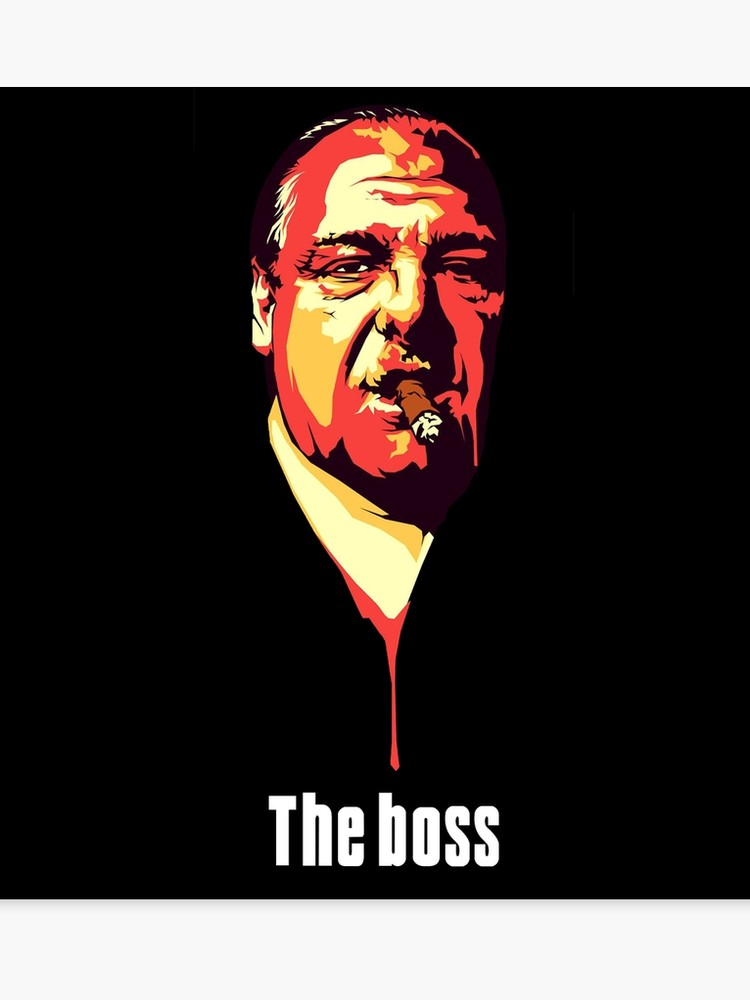 Tony soprano clipart svg royalty free download the sopranos tv show tony soprano | Canvas Print svg royalty free download
