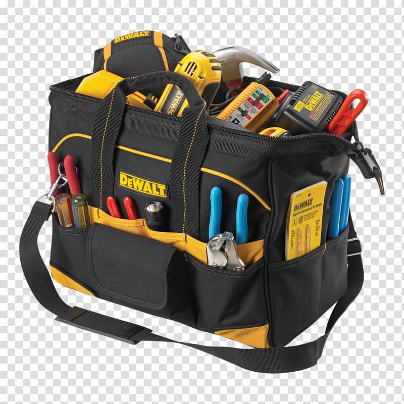 Tool bag clipart png transparent stock DeWalt Hand tool Tool Boxes Bag, bag transparent background ... png transparent stock