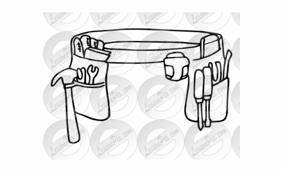 Toolbelt clipart image free library Tool Belt Cliparts - Black And White Toolbelt Clipart Free ... image free library