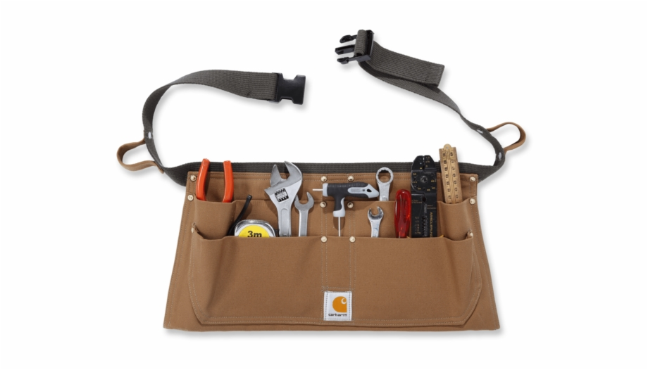 Tool bag clipart jpg transparent stock Carhartt A09 Duck Tool Belt Xl - Carhartt Duck Nail Apron ... jpg transparent stock