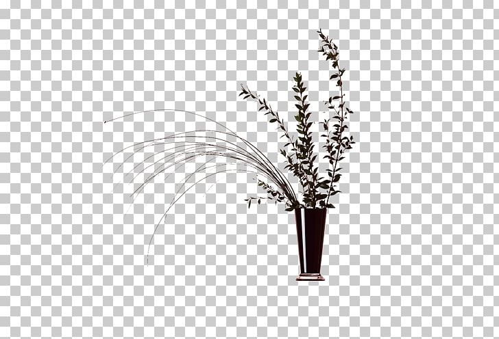 Tools arranged in a paint can vase clipart vector transparent stock China Painting Chinoiserie Fundal PNG, Clipart, Arrangement ... vector transparent stock