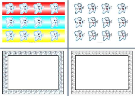 Tooth clipart borders png free Free Dental Borders Cliparts, Download Free Clip Art, Free ... png free