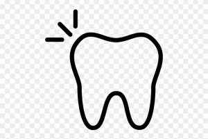Tooth clipart outline banner black and white library Tooth outline clipart 1 » Clipart Portal banner black and white library
